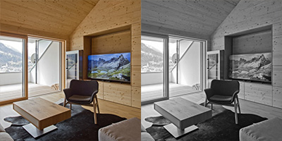 Mountain apartment